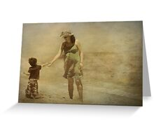 Simple moments... Greeting Card