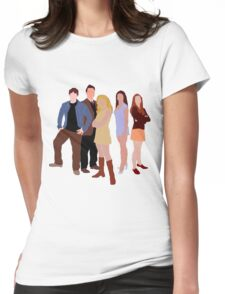 The Original Scoobies Womens Fitted T-Shirt