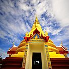 Koh Sumui Temple by Michael Powell