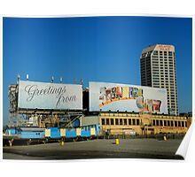 Welcome Sign - Atlantic City Poster