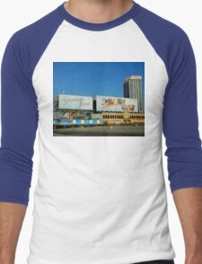Welcome Sign - Atlantic City Men's Baseball ¾ T-Shirt