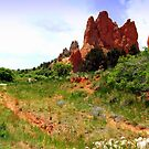 Garden of the gods by Antionette