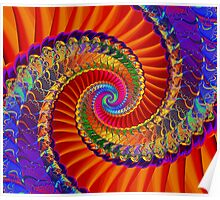 Spiral Inflection Poster