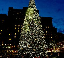 Christmas in San Francisco by Tommy Bombon
