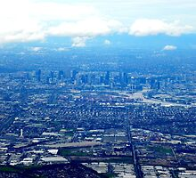 Melbourne... from the air by Noeline R
