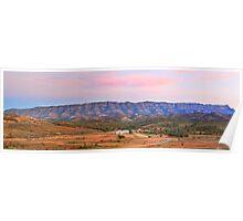 Arkaba Woolshed, Flinders Ranges, South Australia Poster