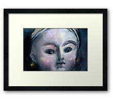 Doll Face#1 Framed Print