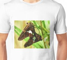 Silver Spotted skipper Pair Unisex T-Shirt