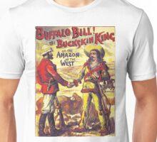 Vintage Buffalo Bill poster Unisex T-Shirt