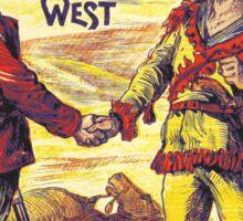 Vintage Buffalo Bill poster Sticker