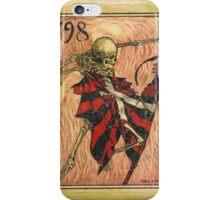 Skeleton Tearing Flag iPhone Case/Skin