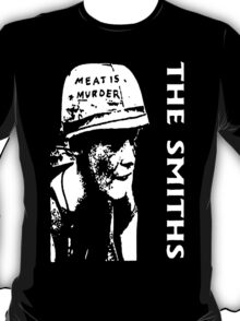 THE SMITHS MEAT MORRISSEY ROCK BAND T-Shirt
