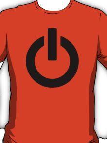 Power Button (black) T-Shirt