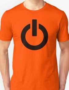 Power Button (black) T-Shirt