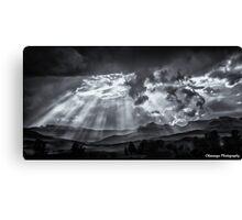 Monochrome - Skyscape Canvas Print