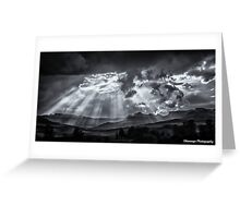 Monochrome - Skyscape Greeting Card
