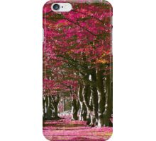 Can't See The Woods For Pink Trees iPhone Case/Skin