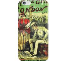 A Concise Guide To London vintage Dandy  iPhone Case/Skin