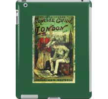 A Concise Guide To London vintage Dandy  iPad Case/Skin