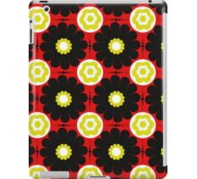 Retro Flower Power Pattern iPad Case/Skin