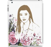Beauty Among Roses iPad Case/Skin