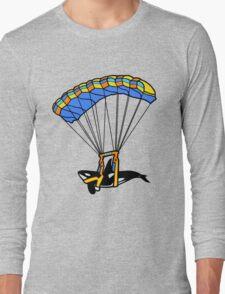 Flying Orca! Long Sleeve T-Shirt