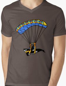 Flying Orca! Mens V-Neck T-Shirt