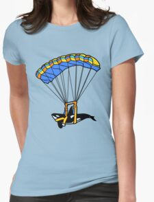 Flying Orca! Womens Fitted T-Shirt