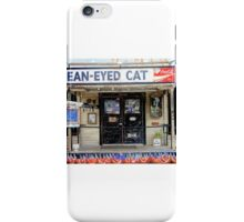 Mean-Eyed Cat iPhone Case/Skin