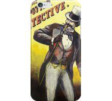 The Spotter Detective vintage Dandy poster iPhone Case/Skin