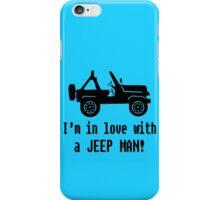 Jeep man geek funny nerd iPhone Case/Skin