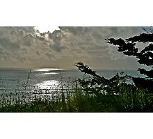 South of the town of Half Moon Bay, California Photographic Print