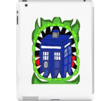 Doctor who Venus fly trap iPad Case/Skin