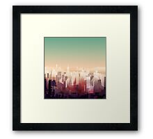 Welcome to NY Framed Print
