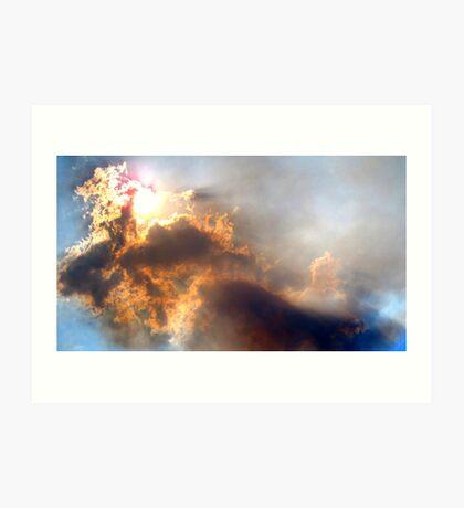 Australia - Bushfire Smoke Art Print