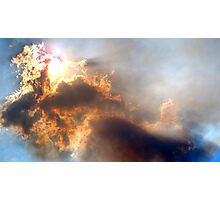 Australia - Bushfire Smoke Photographic Print