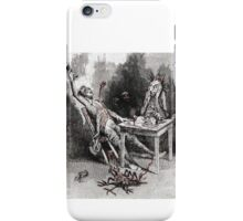 Drinking with the Devil Vintage illustration iPhone Case/Skin