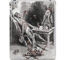 Drinking with the Devil Vintage illustration iPad Case/Skin