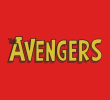 Avengers Comic Book Title Kids Clothes