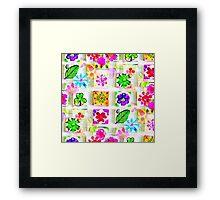 Mille Fleurs Framed Print