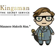 Manners Maketh Man - Harry Hart by ArianeVass