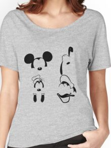 Mickey and Friends Women's Relaxed Fit T-Shirt