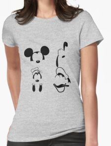 Mickey and Friends Womens Fitted T-Shirt