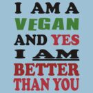 Vegan Tee by Matt Roberts