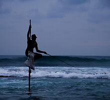 Stilts Fishing by Shutta