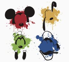Mickey and Friends Splash One Piece - Short Sleeve