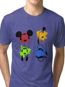 Mickey and Friends Splash Tri-blend T-Shirt