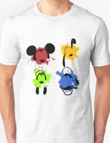 Mickey and Friends Splash Unisex T-Shirt