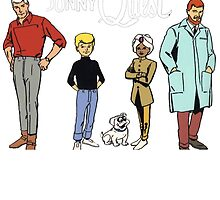 Johnny Jonny Quest Full Team Cartoon by pstore