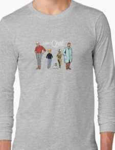 Johnny Jonny Quest Full Team Cartoon Long Sleeve T-Shirt